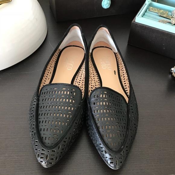 86045c398a7 Franco Sarto Shoes - Franco Sarto Black Soho Flats